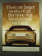 1995 Oldsmobile Aurora Car Ad - Larger Works of Art