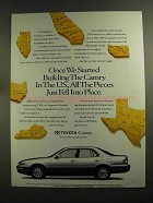 1993 Toyota Camry Car Ad - The Pieces Fell Into Place