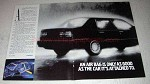 1992 2-page Volvo Cars Ad - Air Bag Good As Car Attached To