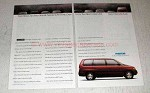 1991 Mazda MPV Minivan Ad - Ten Best Cars List