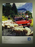 1990 GM Chevrolet Beretta Ad - Going All Out For You