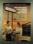 1988 Toyota Parts and Service Ad - Only One Good Enough
