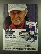 1988 AC-Delco Parts Ad - Chuck Yeager - Stock Up