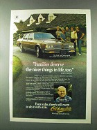 1982 Olds Delta 88 Royale Brougham Ad - Dick Van Patten