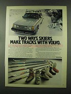 1980 Volvo Cars, Dynamic Skis and Koflach Boots Ad