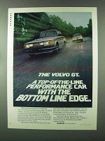 1980 Volvo GT Ad - Top-of-the-line Performance