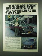 1979 Volvo Car Ad - 13 Years Ago I Bought This Volvo