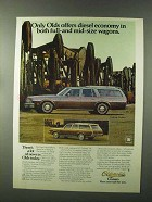 1979 Oldsmobile Custom & Cutlass Cruiser Wagons Ad