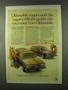 1978 Oldsmobile Custom Cruiser and Cutlass Cruiser Ad