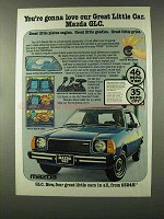 1978 Mazda GLC Ad - Gonna Love Our Great Little Car