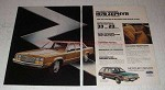 1978 Mercury Zephyr Car Ad