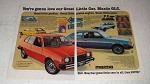1977 Mazda GLC Ad - You're Gonna Love Our Little Car