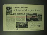 1958 MG Magnette Car Ad - Brings Out the Expert in You