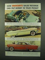 1954 Mercury Sun Valley Car Ad - Money in Your Pocket