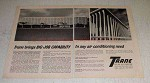 1966 Trane Air Conditioning Ad - National Cash Register