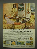 1966 Edison Electric Institute Ad - Home Heating