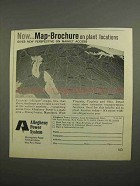 1966 Allegheny Power System Ad - Map-Brochure
