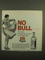 1966 Ole Tequila Ad - No Bull The Best Margaritas