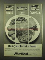 1965 Trade Winds Ad - Fish Sticks, Fillets, Fish Steaks