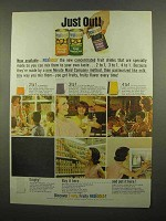 1965 Minute Maid Real Gold Drinks Ad - Orange, Grape