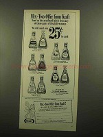 1965 Kraft Dressings Ad - Mix-Two Offer from Kraft