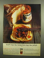 1965 Kraft Grape Jelly Ad - Kraft Buys The Bread