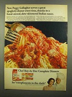 1965 Chef Boy-Ar-Dee Complete Dinners Ad