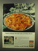 1965 Chef Boy-Ar-Dee Beef Ravioli Ad - Shades of Rome