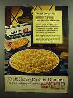 1965 Kraft Macaroni & Cheese Deluxe Dinner Ad