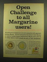 1965 Mazola Margarine Ad - Open Challenge to Users