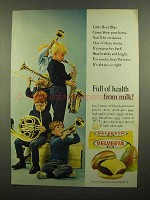 1965 Kraft Velveeta Ad - Full of Health From Milk