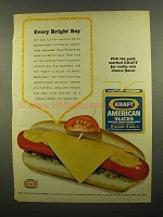 1965 Kraft American Slices Ad - Every Bright Boy