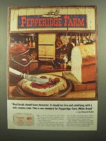 1965 Pepperidge Farm White Bread Ad - Have Character