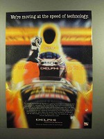 2000 Delphi Automotive Systems Ad - Speed of Technology