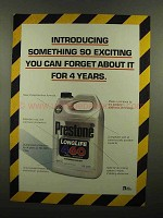 1993 Prestone Long Life 460 Antifreeze Coolant Ad