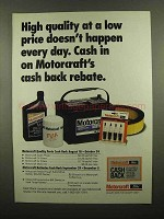 1993 Ford Motorcraft Parts Ad - High Quality Low Price