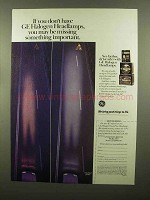1988 GE Halogen Headlights Ad - If You Don't Have