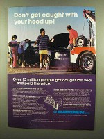 1985 Hayden Trans-Cooler Ad - Don't Get Caught