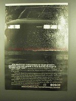 1984 Bosch Super Plugs Ad - Invested Thousands