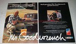 1982 Mr. Goodwrench Service Ad - It's Worth Keeping