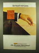1979 Die Reemtsma International Cigarettes Ad, German