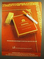 1979 Dunhill Cigarettes Ad - Finest in the World