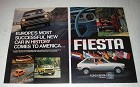 1977 Ford Fiesta Ad - Europe's Most Successful