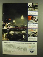 1963 Ford Motor Company Ad - Resist Time and Weather