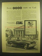 1960 Ford Motor Company Ad - Every Ford Starts on Coal