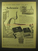 1959 Sobranie Cigarettes Ad - People Who Enjoy Best