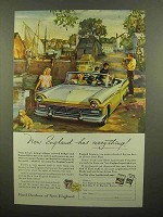 1957 Ford Motor Company Ad - New England Has