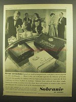 1956 Sobranie Cigarettes Ad - Great Occasions