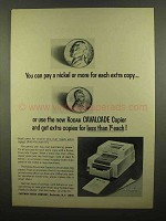 1965 Kodak Cavalcade Copier Ad - Pay a Nickel More