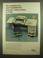 1965 Friden 2201 Flexowriter Writing Machine Ad